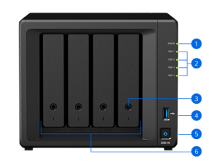 DS418 Backpanel