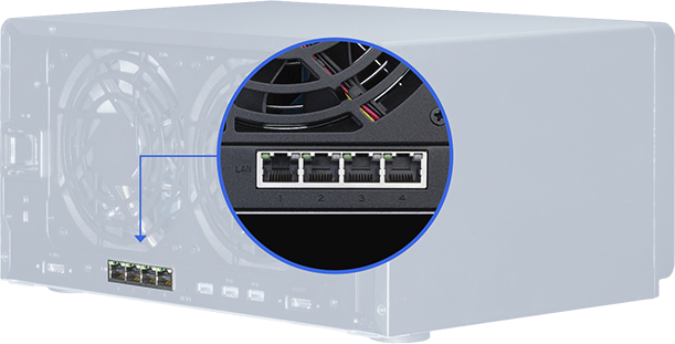 Synology 4 Ports GBE